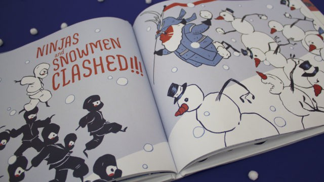 Craft An Epic Snowball Fight With Samurai Santa!