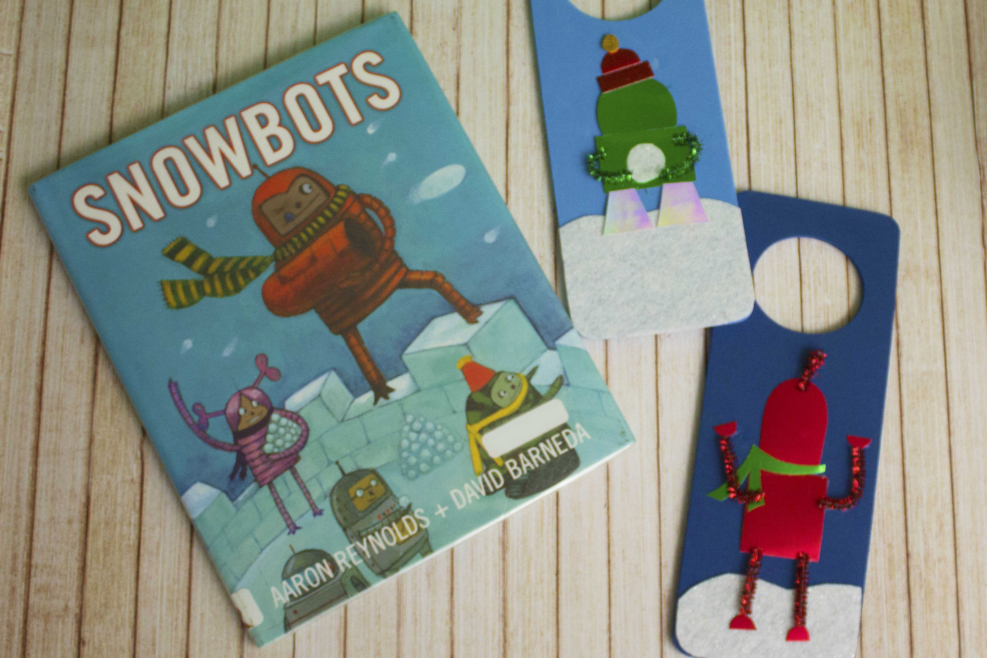 snowbots book and craft