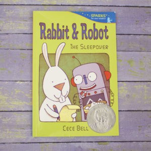 rabbit & robot front cover