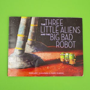 the three little aliens front cover