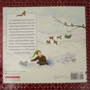 the twelve days of winter back cover