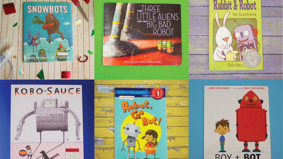If You Liked 'Snowbots', Here's 5 More Robot Books for Young Readers!
