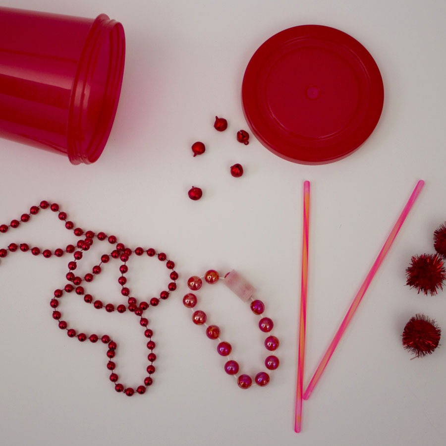 red sensory items