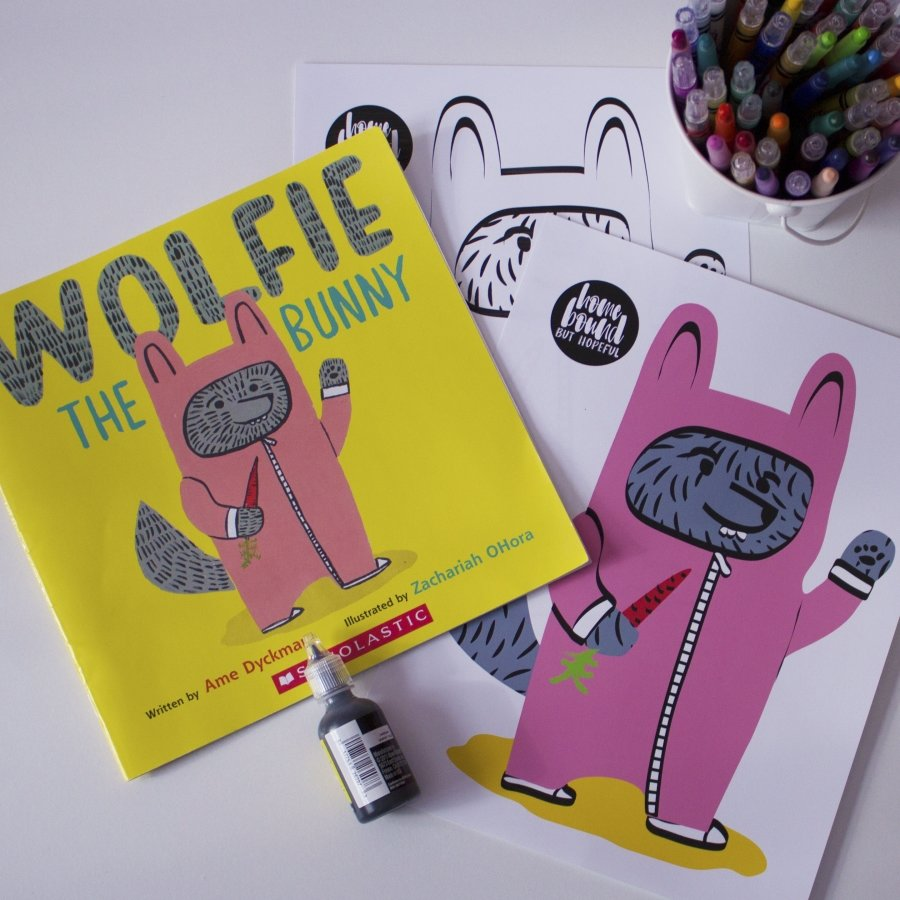 wolfie the bunny project